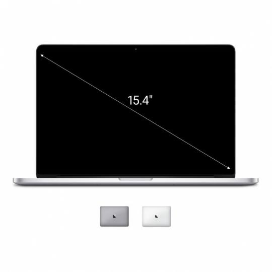 Apple Macbook Pro 2014 15,4'' mit Retina Display Intel Core i7 2,8 GHz 1 TB SSD 16 GB silber gut