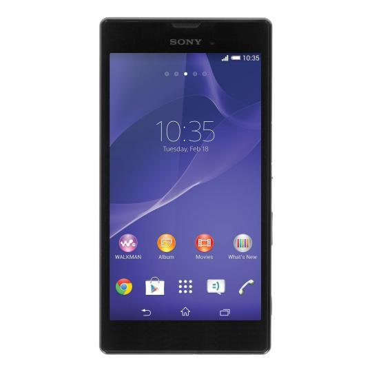 Sony Xperia T3 schwarz gut