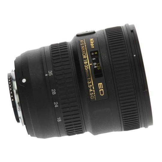 Nikon AF-S Nikkor 18-35mm 1:3.5-4.5G ED negro muy bueno