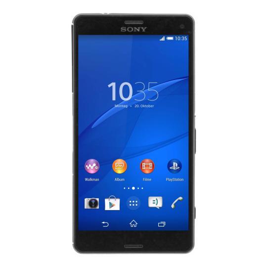 Sony Xperia Z3 Compact 16 GB Schwarz gut