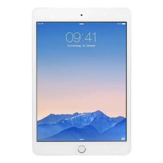 Apple iPad mini 3 WiFi + 4G (A1600) 128 Go argent Bon
