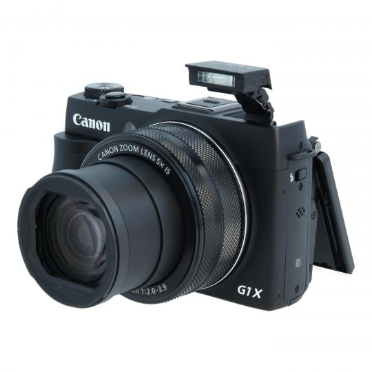 Canon PowerShot G1 X Mark II negro buen estado
