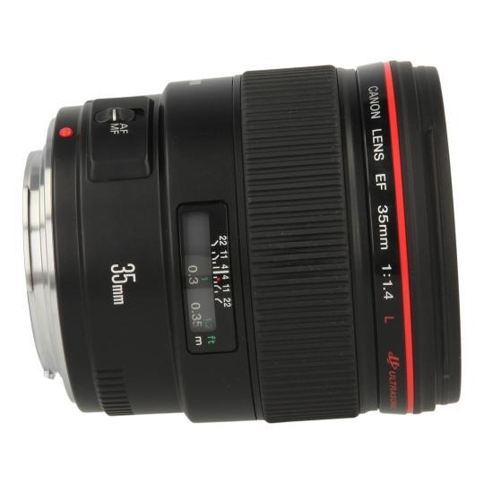 Canon EF 35mm 1:1.4 L USM Schwarz gut
