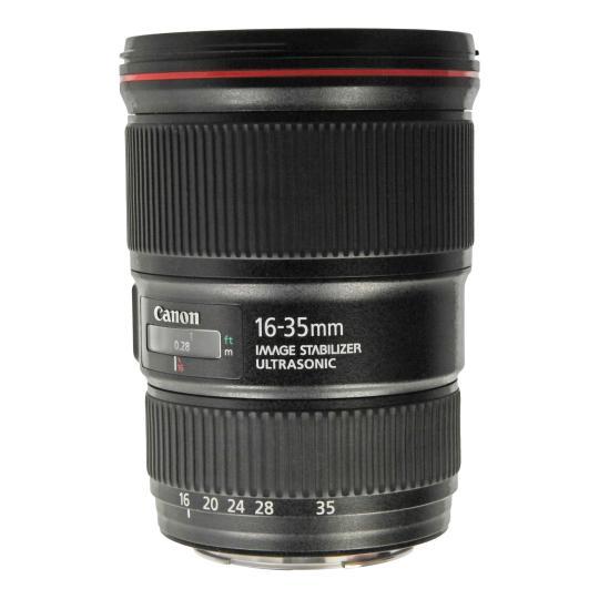 Canon EF 16-35mm 1:4 L IS USM Schwarz gut