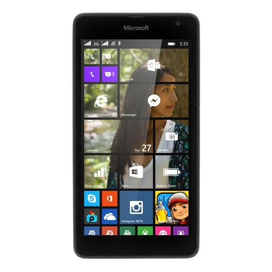 Microsoft Lumia 535 8 Go noir Bon