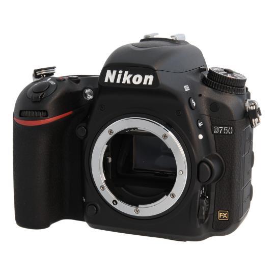 Nikon D750 Schwarz wie neu