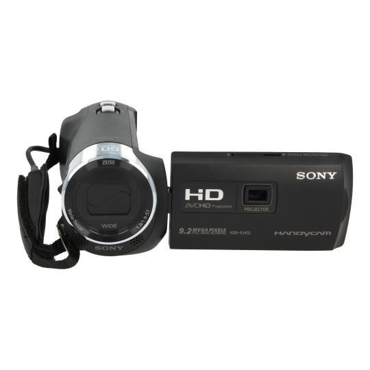 Sony HDR-PJ410 Schwarz gut