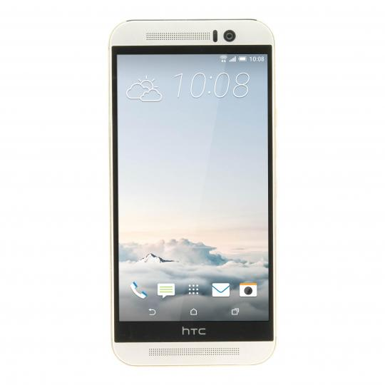 HTC One M9 32 GB Gold on Silver sehr gut