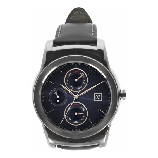 LG G Watch Urbane (W150) silber schwarz gut