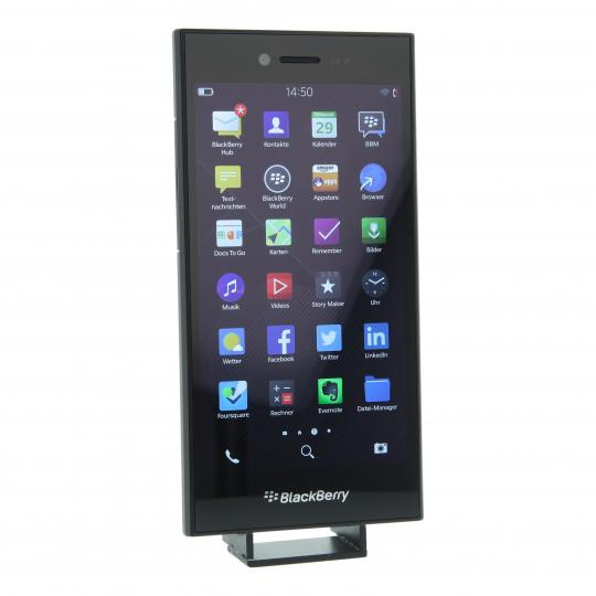 BlackBerry Leap 16 GB Schwarz gut