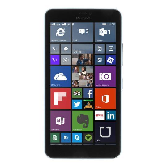 Microsoft Lumia 640 XL Dual-Sim 8 Go bleu Très bon