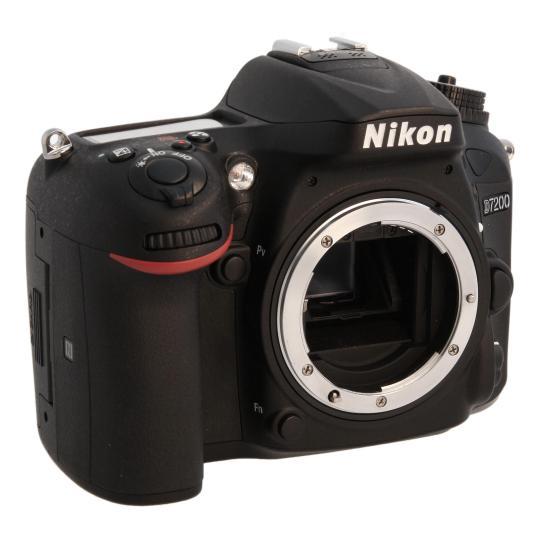 Nikon D7200 Schwarz sehr gut