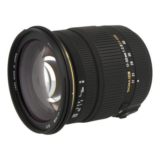 Sigma pour Sony & Minolta 17-50mm 1:2.8 EX DC OS HSM noir Neuf