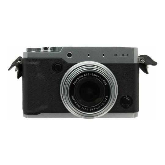 Fujifilm FinePix X30 silber schwarz gut