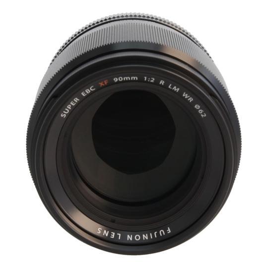 Fujifilm 90mm 1:2 XF R LM WR Schwarz gut
