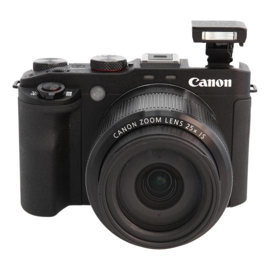 Canon PowerShot G3 X Schwarz gut