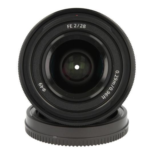 Sony 28mm 1:2.0 FE Schwarz wie neu