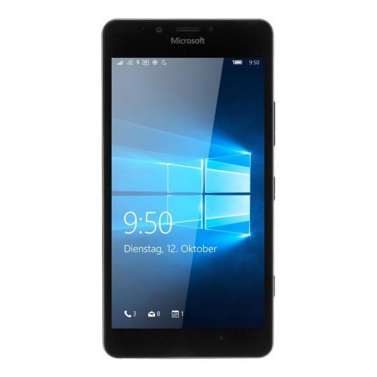 Microsoft Lumia 950 Dual Sim 32 Go noir Bon