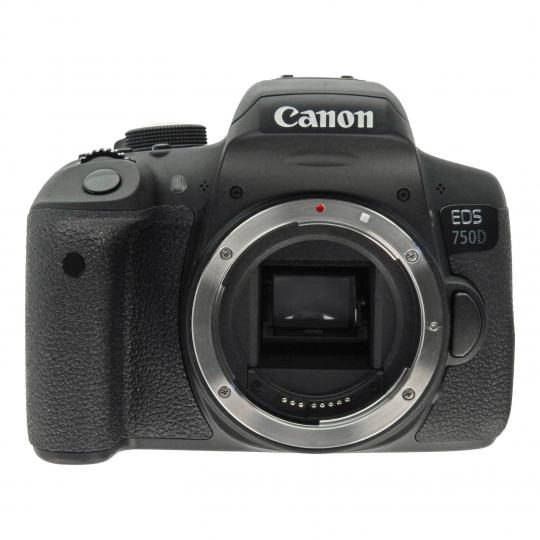 Canon EOS 750D Schwarz gut