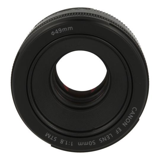 Canon EF 50mm 1:1.8 STM Schwarz gut