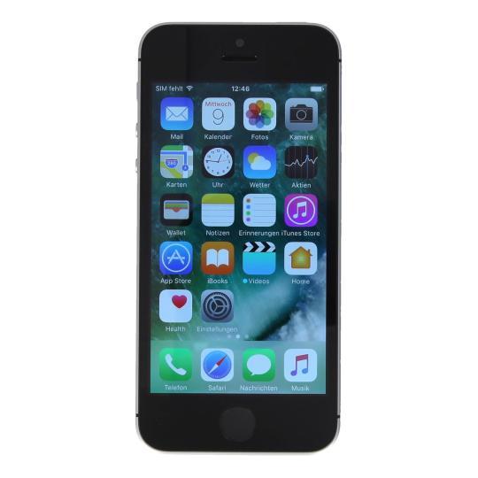 Apple iPhone SE 64GB spacegrau gut