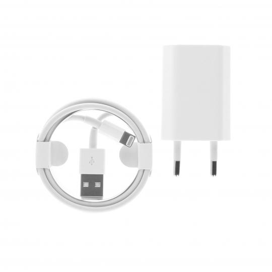 Apple Lightning USB-Kabel & Adapter Weiss neu