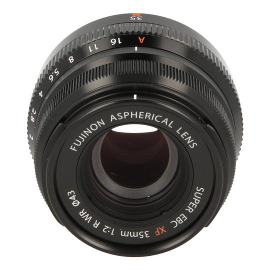 Fujifilm 35mm 1:2.0 XF R WR noir Bon