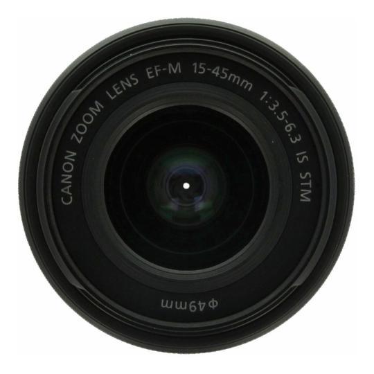 Canon 15-45mm 1:3.5-6.3 EF-M IS STM schwarz gut