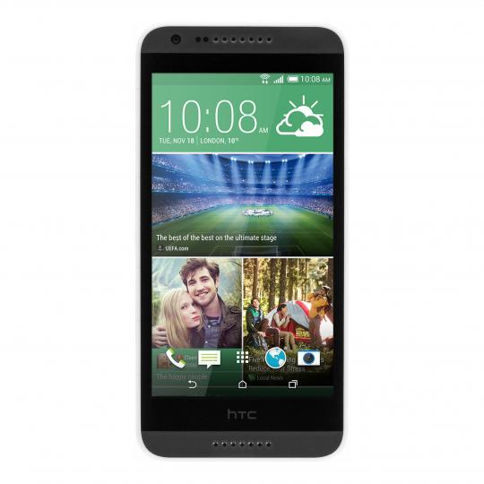 HTC Desire 620G Dual-Sim grau / weiß wie neu
