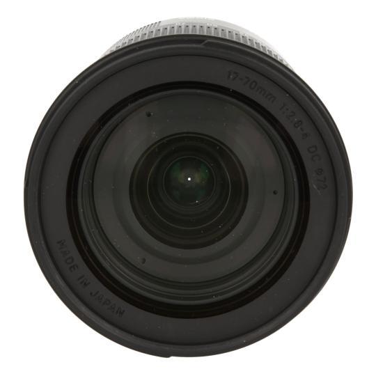 Sigma 17-70mm 1:2.8-4 DC HSM Macro Contemporary für Sony / Minolta Schwarz sehr gut