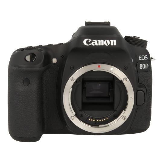 Canon EOS 80D Schwarz gut