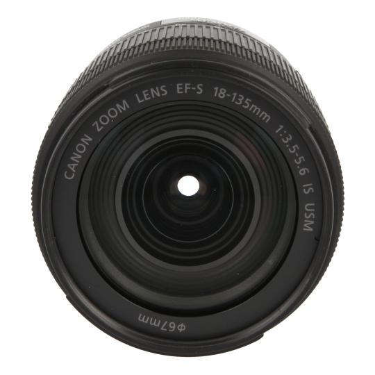 Canon EF-S 18-135mm 1:3.5-5.6 IS USM Schwarz gut