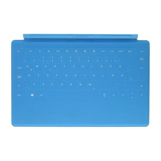 Microsoft Surface Touch Cover Blau gut