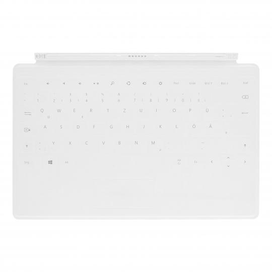 Microsoft Surface Touch Cover Weiss - QWERTZ sehr gut
