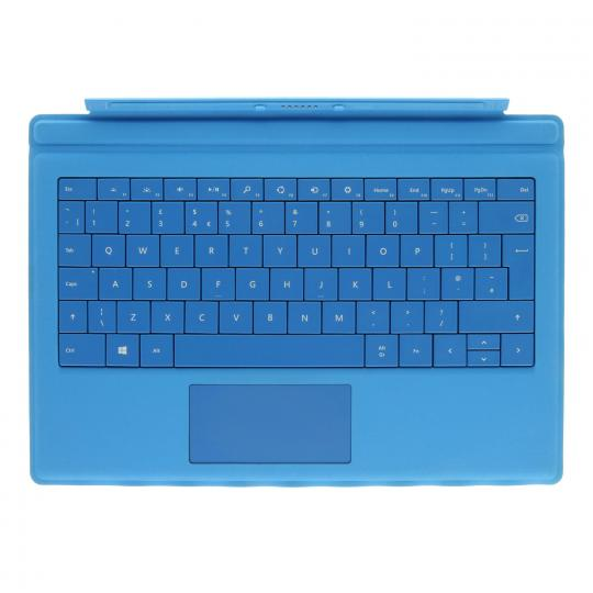 Microsoft Surface Type Cover Pro 3 (A1644/A1709) Hellblau - QWERTZ gut