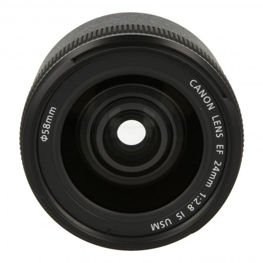 Canon EF 24mm 1:2.8 IS USM Schwarz gut