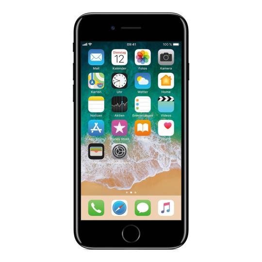 Apple iPhone 7 256 GB Diamantschwarz gut