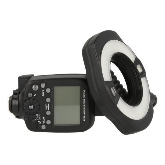 Canon Macro Ring Lite MR-14EX II Schwarz gut