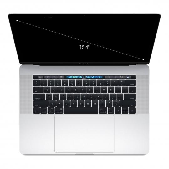 "Apple MacBook Pro 2016 15"" Touch Bar Intel Core i7 2,7 GHz 256 GB SSD 16 GB silber neu"
