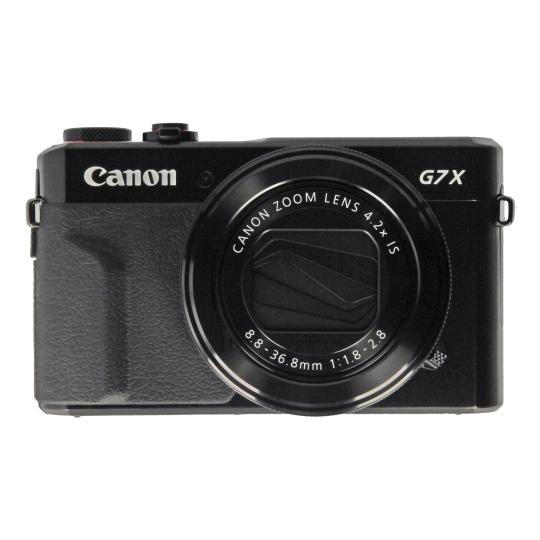 Canon PowerShot G7X Mark II noir Bon