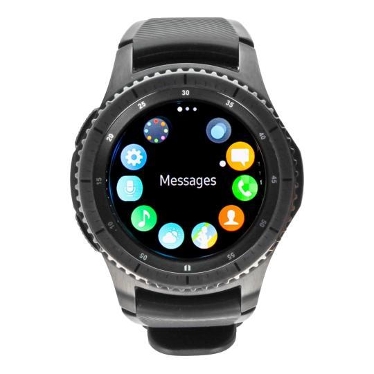 Samsung Gear S3 Frontier (SM-R760) Schwarz gut