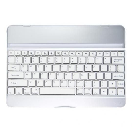kwmobile Bluetooth Keyboard Hülle für Apple iPad Air Weiss Weiss neu