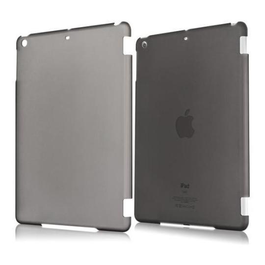 kwmobile gummiertes hardcase f r apple ipad air schwarz. Black Bedroom Furniture Sets. Home Design Ideas