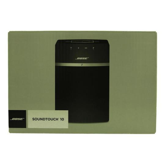 Bose SoundTouch 10 schwarz gut