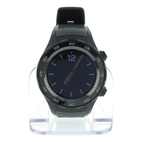 Huawei Watch 2 mit Sportarmband schwarz Schwarz sehr gut
