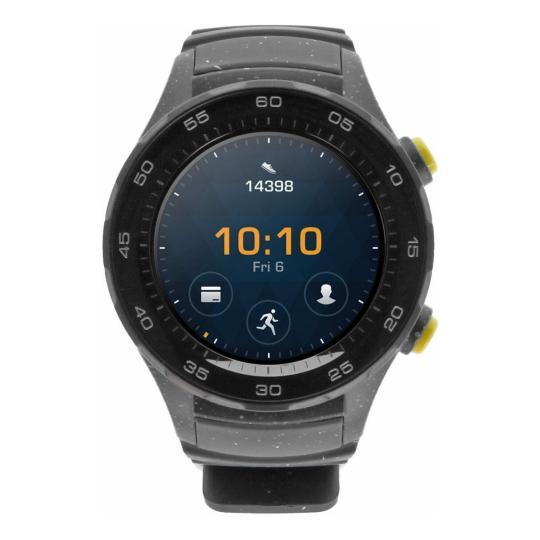 Huawei Watch 2 mit Sportarmband grau grau sehr gut