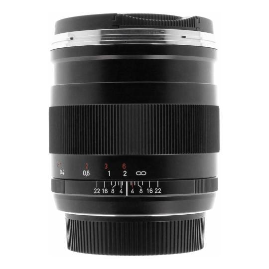 Zeiss 25mm 1:2.0 ZE Distagon T*  für Canon schwarz gut