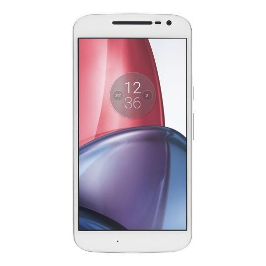 Motorola Moto G4 Plus Dual-Sim 16GB weiß wie neu