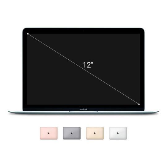 "Apple Macbook 2017 12"" 1,2 GHz Intel Core m3 256 GB SSD 8 GB silber gut"