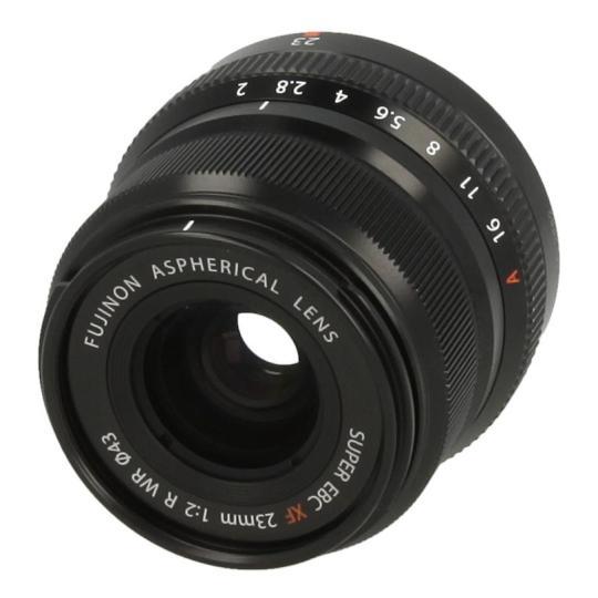 Fujifilm 23mm 1:2.0 XF R WR Schwarz neu